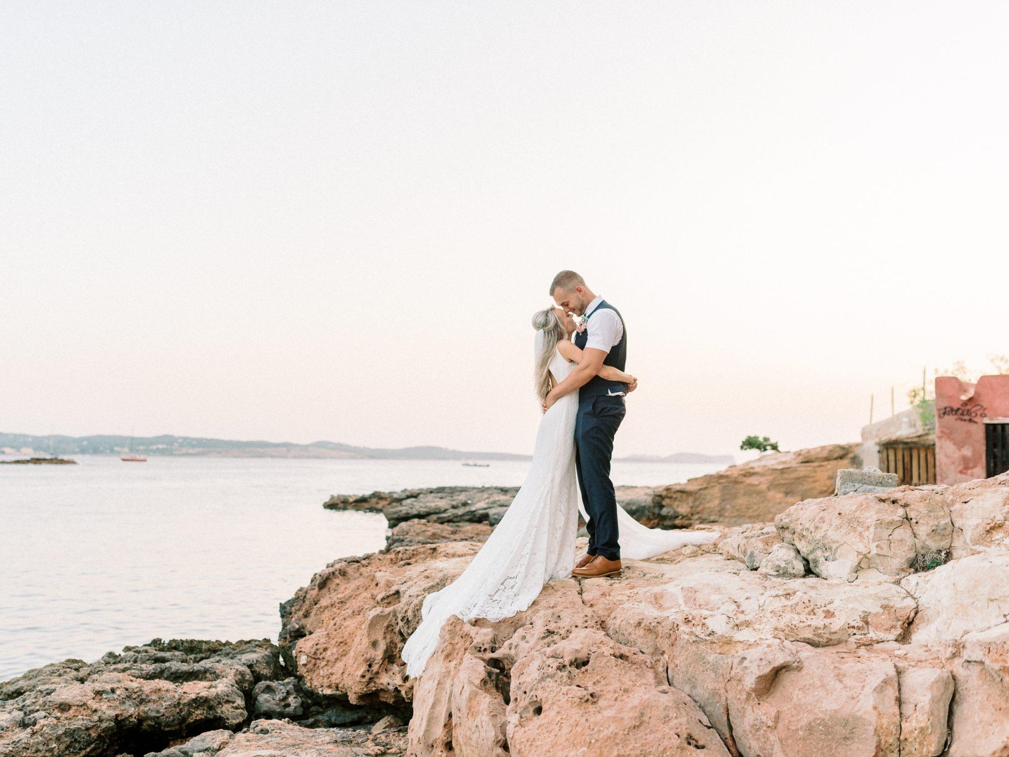 Best Wedding Photographer Ibiza - Wedding Venue Cala Gracioneta
