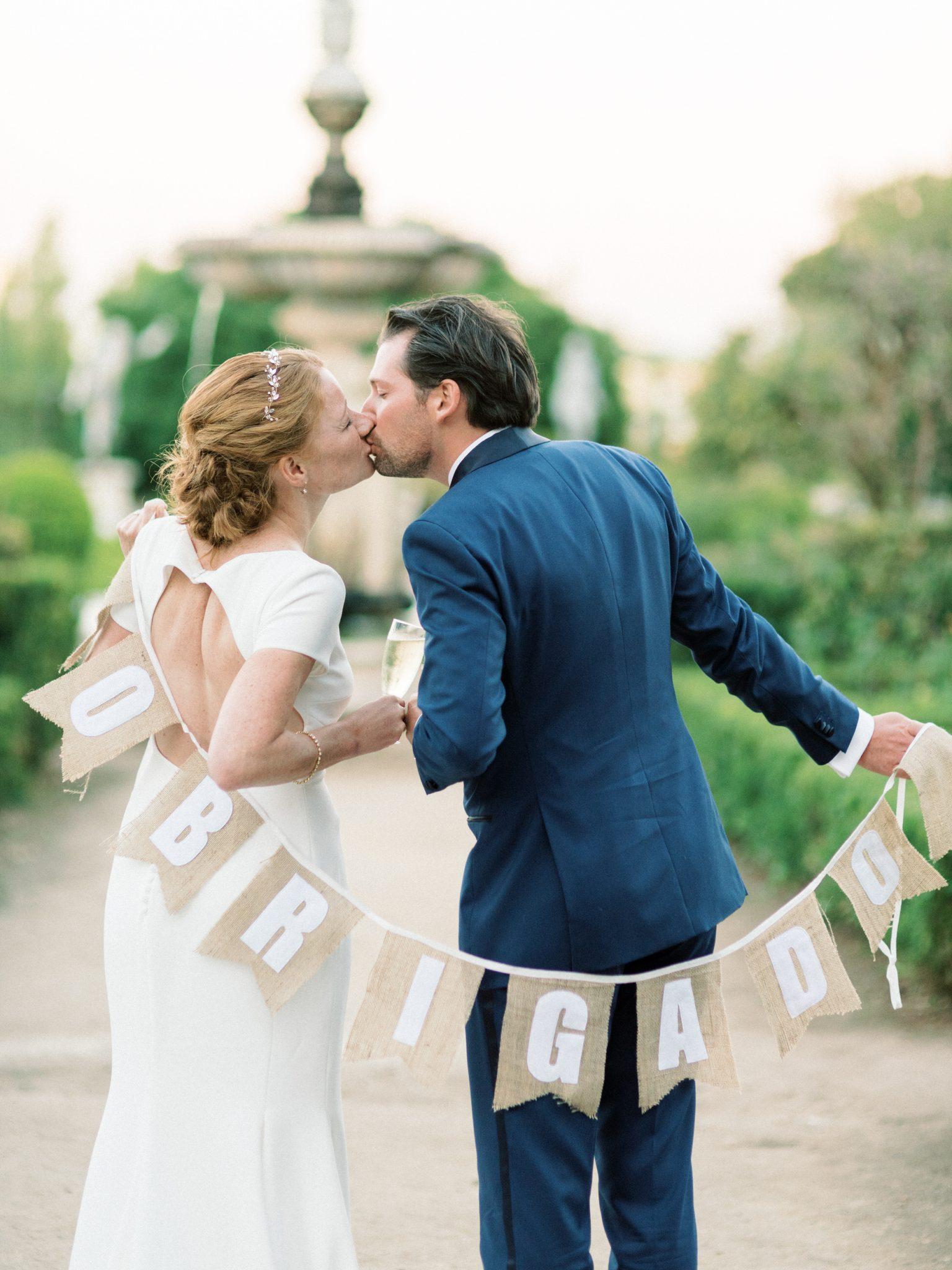 Wedding Fronteira Palace, Lisbon Photographer