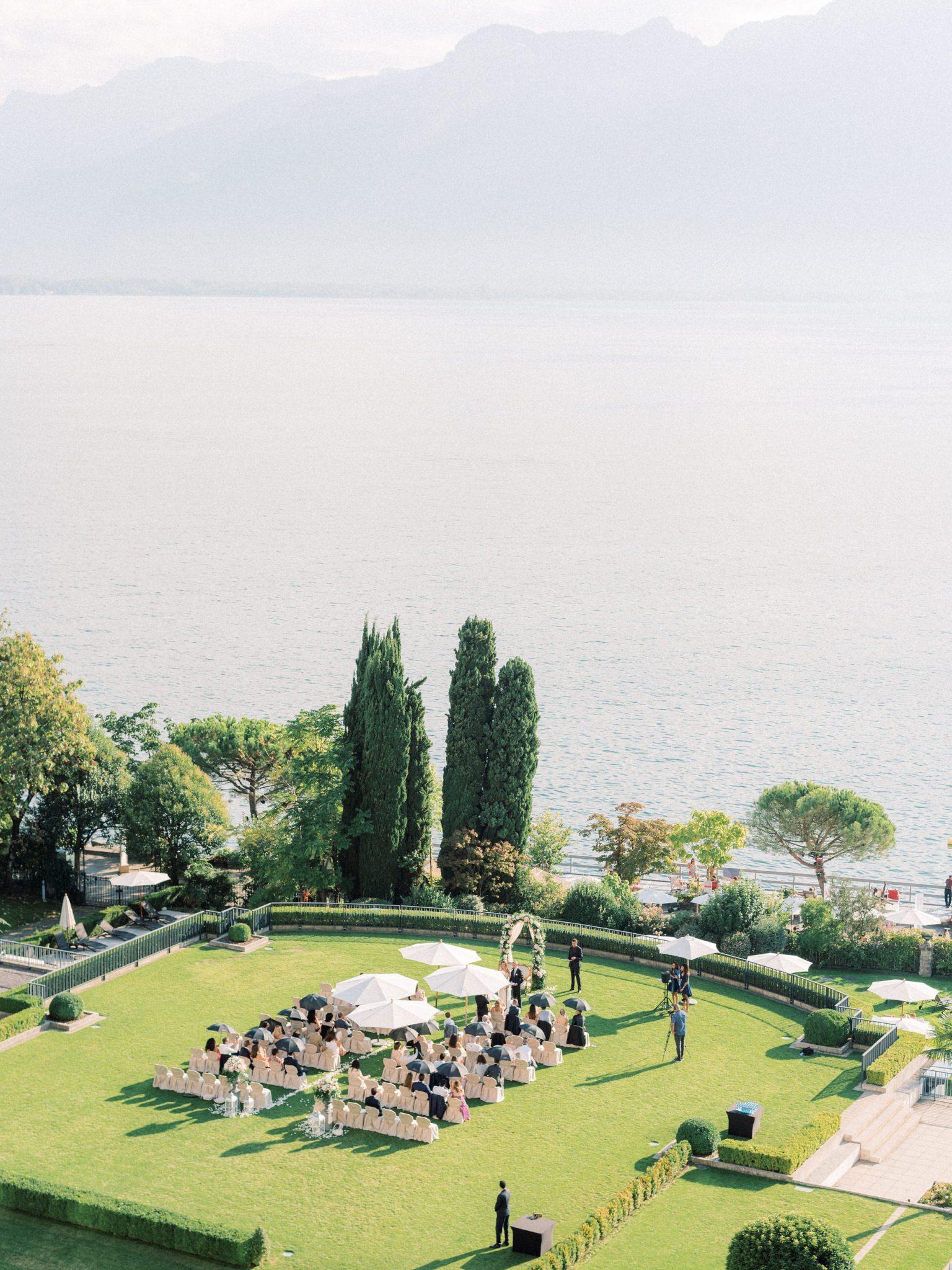 Wedding Montreux Palace - Switzerland Photographer